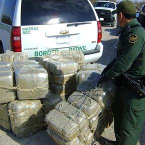 Las interceptaciones de cannabis en la Frontera de México abajan una vezmás