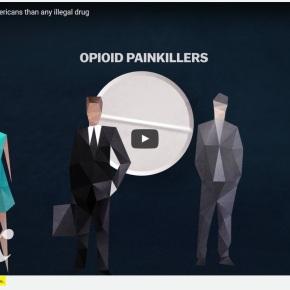 Analgésicos ahora matan a más estadounidenses que cualquier droga ilegal. Ver porqué.