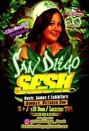 EVENTOS: @SanDiego_Sesh, 2 de Octubre,2-9pm